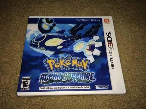 Pokemon Alpha Sapphire Original Para Nintendo 3ds