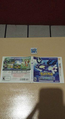 Pokemon Alpha Sapphire **nintendo 2ds Y 3ds**