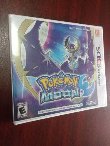 Pokemon Moon Para Nintendo 3ds Nuevo Y Sellado