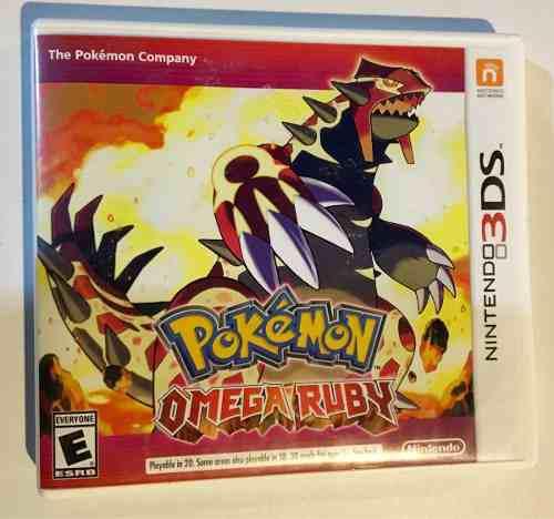 Pokemon Omega Ruby 3ds Envío Gratis Por Dhl