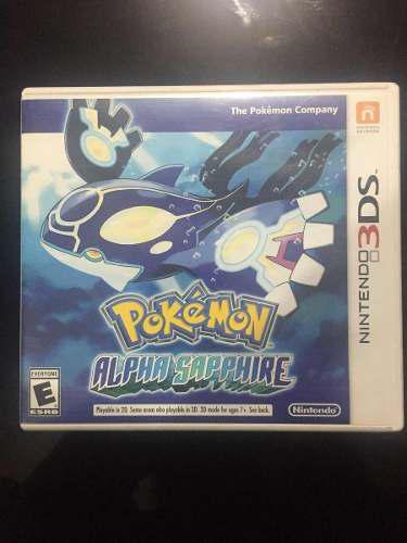 Pokemon Original Alpha Sapphire 3ds, Envio Gratis!!