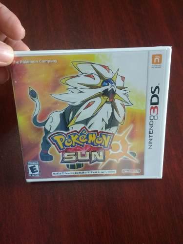 Pokemon Sun Para Nintendo 3ds Nuevo Y Sellado