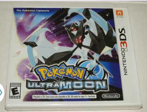 Pokemon Ultra Moon - Nintendo 3ds - Msi