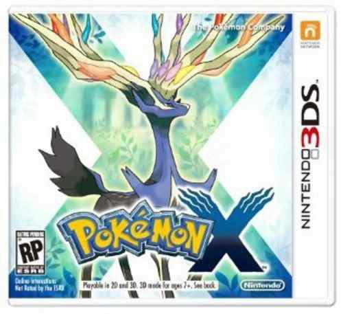 Pokemon X Nintendo 3ds Nuevo Y Sellado D3 Gamers