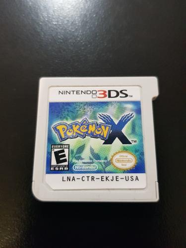Pokemon X Nintendo 3ds Usado Envio Gratis