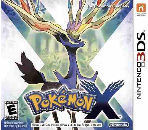 Pokemon X Para Nintendo 3ds Usado