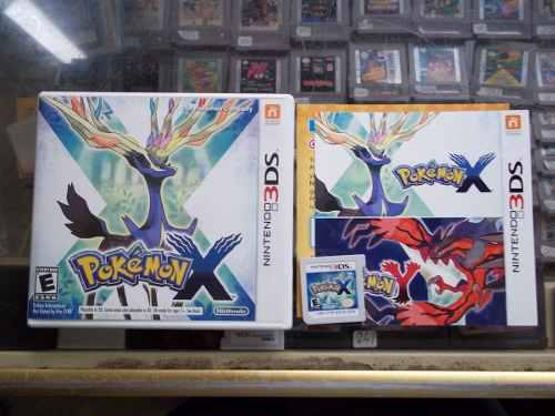 Pokemon X Version Nintendo 3ds