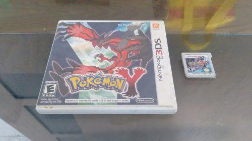 Pokemon Y Completo Para Nintendo 3ds,excelente Titulo.
