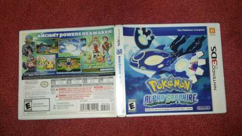 Pokémon Alpha Sapphire Para Nintendo 3ds