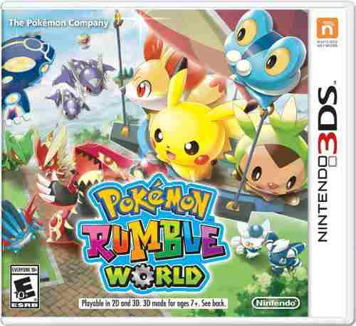 Pokémon Rumble World::.. Para Nintendo 3ds A Meses