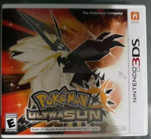 Pokémon Ultrasol Ó Ultraluna Para Nintendo 3ds + Extras
