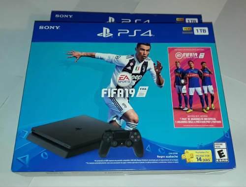Ps4 Slim 1tb Fifa 19 Nueva Sellada Sony