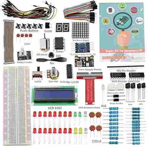 Raspberry Pi 3 Zero Starter Kit - Sunfounder Project Super K