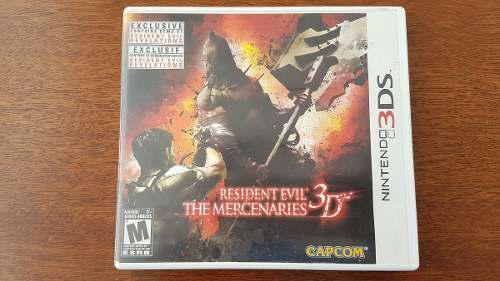 Resident Evil The Mercenaries Nintendo 3ds Xl Envío