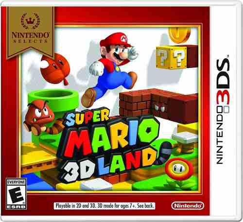 Super Mario Land 3ds, Nuevo, Sellado