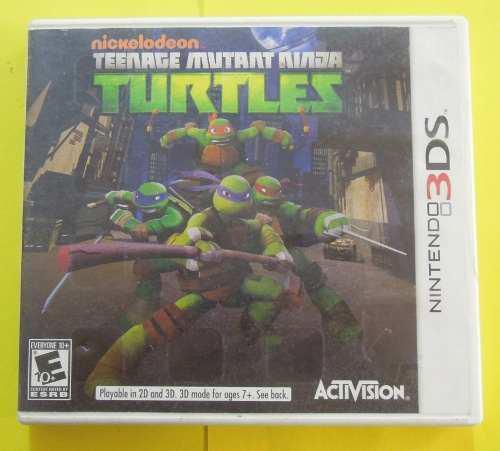 Teenage Mutant Ninja Turtles Para Nintendo 3ds