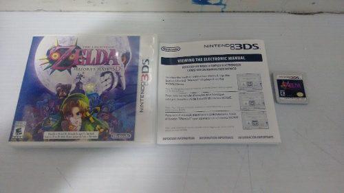 The Legend Of Zelda Majoras Mask Completo Para Nintendo 3ds