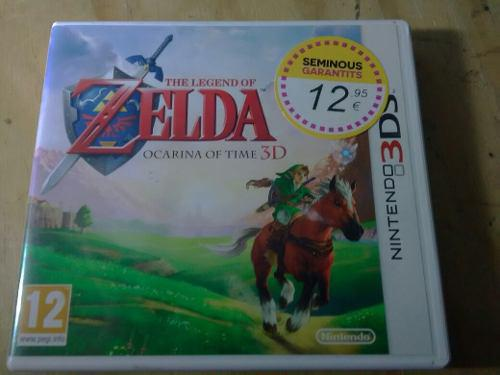 The Legend Of Zelda Ocarina Of Time 3ds Europeo