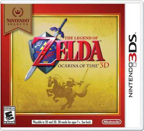 The Legend Of Zelda Ocarina Of Time 3ds Nuevo Sellado