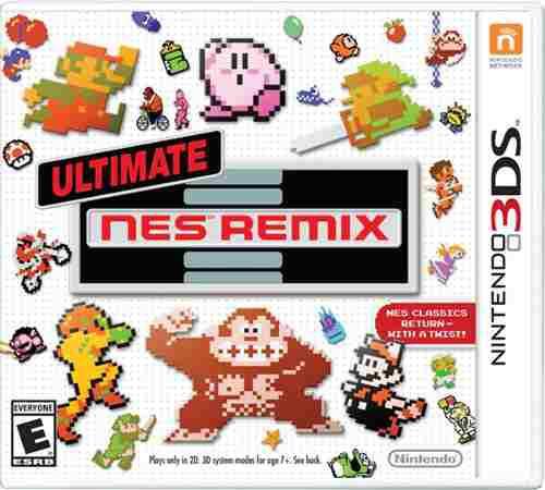 Ultimate Nes Remix Nintendo 3ds Primera Edicion Envio Gratis