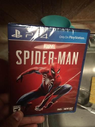 Vendo Juego De Spider Man Nuevo Sin Abrir Para Ps4