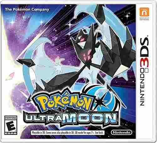 Videojuego Pokémon Ultra Moon Para Nintendo 3dsCtrpa2be