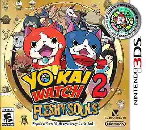 Yo Kai Watch 2 Fleshy Souls 3ds Nuevo Citygame
