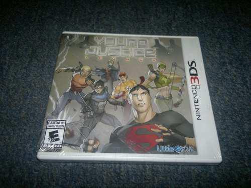 Young Justice League Nuevo Para Nintendo 3ds,excelente Titul
