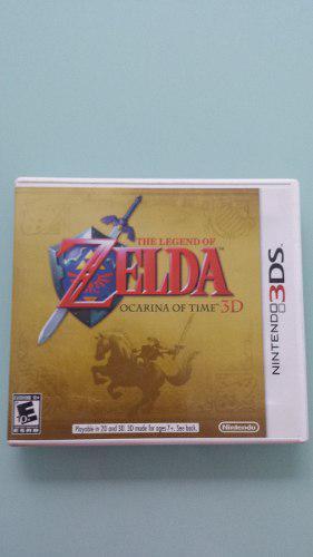 Zelda Ocarina Of Time **1 Edición 3ds**