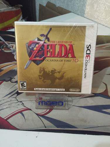 Zelda Ocarina Of Time 3ds Ist Edición Sellado De Fabrica