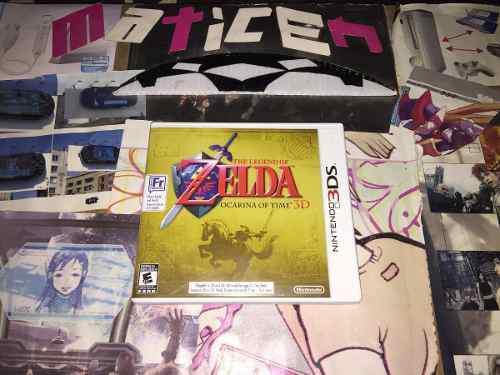 Zelda Ocarina Of Time 3ds. Venta O Cambio;)