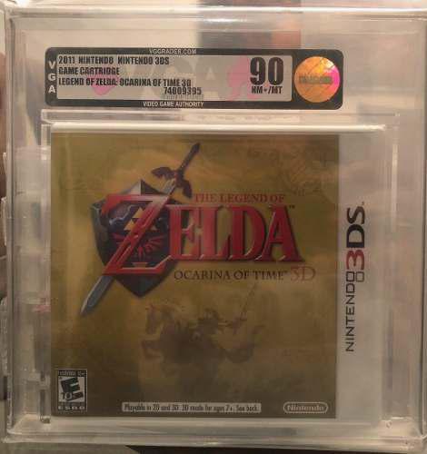 Zelda: Ocarina Of Time - 3ds Vga 90 Toz