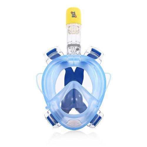Anti Niebla Seco Snorkel Máscara De Cara Completa Set-l