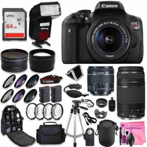 Cámara Digital Slr Canon Rebel T6i Canon Ef S  Mm