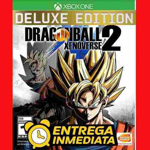 Dragon Ball Xenoverse 2 Deluxe Xbox One Offline No Código