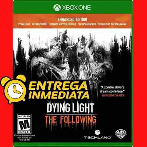 Dying Light Following Enhanced Ed Xbox One Offline No