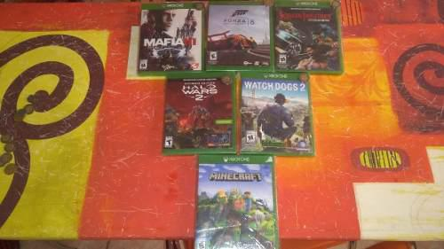 Juegos Para Xbox One(mafia 3,halo Wars 2,killer Instinct)