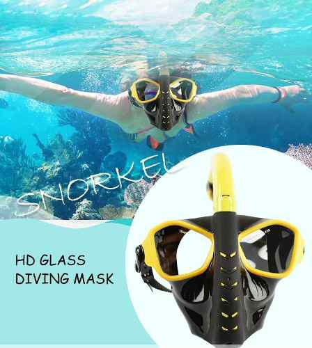 Mascara De Buceo De Superficie & Snorkel 180