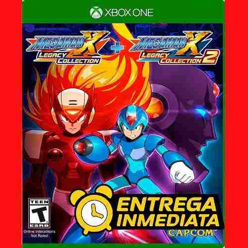 Mega Man X Legacy Collection 1 2 Xbox One Offline No Código