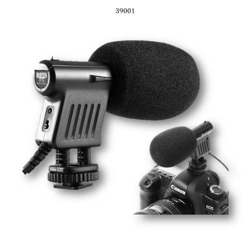 Microfono Mod.  Para Nikon Canon Olympus Pentax Jvc