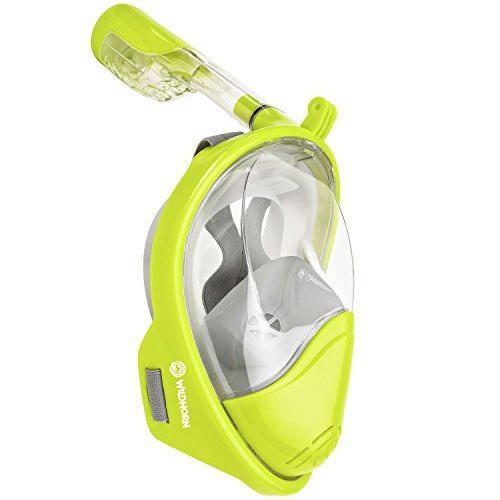 Máscara De Snorkel Compatible Con Gopro 180 ° Seaview -