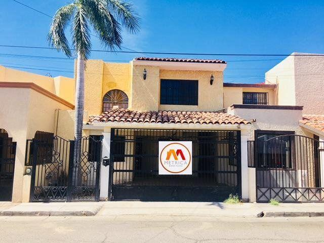 Renta casa de 3 Rec equipada en COLINAS en Hermosillo
