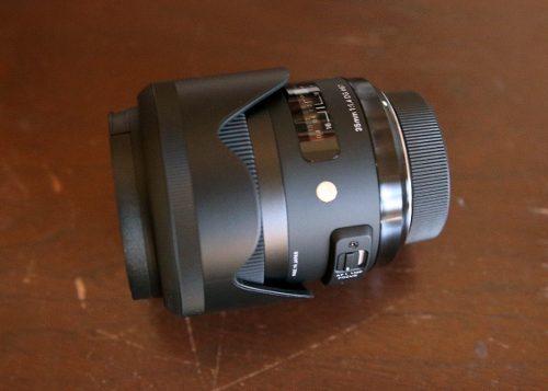 Sigma Art 35mm F/1.4 Dg Hsm Lens Para Nikon Nuevo