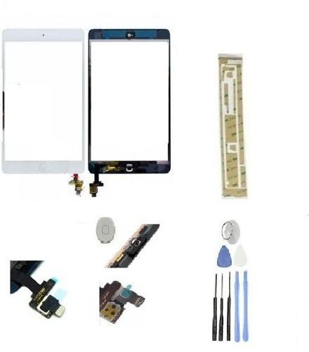 Touch Para Ipad Mini 1 Y 2 Pantalla De Cristal Ic Yboton Ge