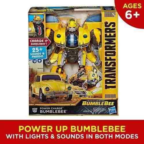 Transformers Bumblebee Power Charge Energizado Vocho Hasbro