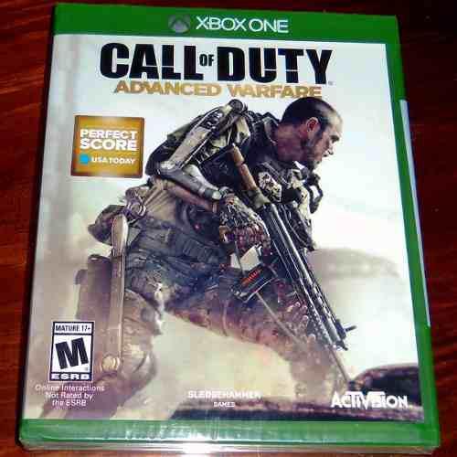 Videojuego Call Of Duty Advanced Warfare Xbox One Sellado