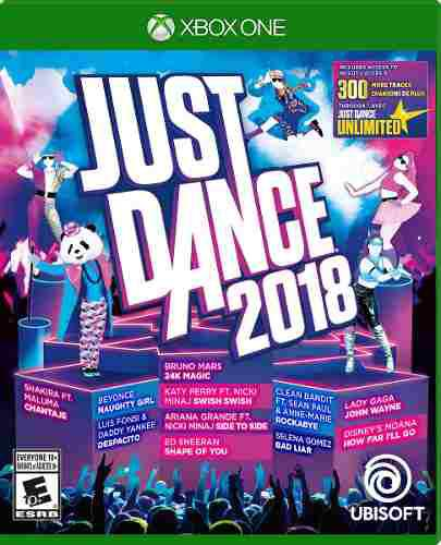Videojuego Just Dance 2018 Xbox One Ibushak Gaming