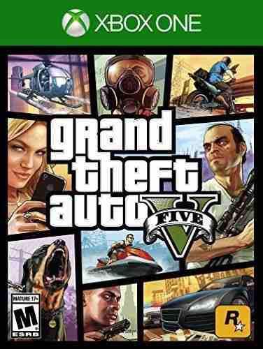 Xb1 - Grand Theft Auto V - Nuevo - Ag