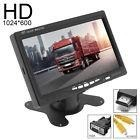 7 Inch Lcd Cctv Monitor Hd Pc Screen Av/vga/hdmi  V