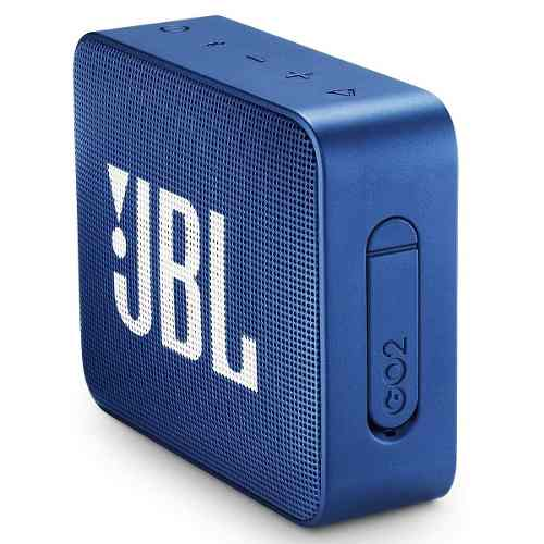 Bocina Inalámbrica Jbl Go 2 Azul Bluetooth
